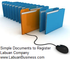 Documents for Incorporation of Labuan Company